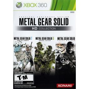 Jogo Metal Gear Solid Hd Collection Xbox 360 Frete Grátis