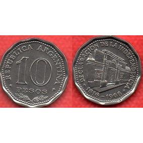 Republica Argentina 10 Pesos 1816 -1966