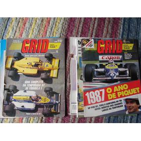 17 Revistas Grid Temporada F1 1987 - Piquet Tricampeão