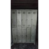 Guardarropa 10 Puertas Cortas, Lockers, Guardabolso