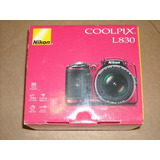 Nueva Nikon Coolpix L830 Cmos Cámara Digital Roja