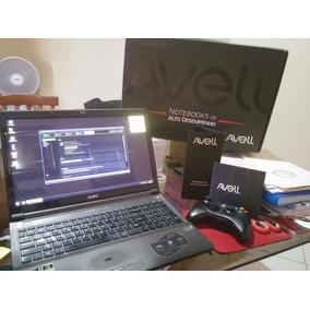 Notebook Avell - I7 - 16gb - Hd 870gb - Pl. Vid. Gtx660m 2gb