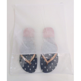 Sacos Sapatos Roupas De Tnt C/visor E Zíper Kit 12 Un.