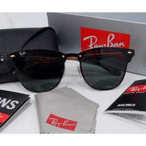 a298cd8b10561 Rayban Blaze Clubmaster - Óculos De Sol Ray-Ban no Mercado Livre Brasil