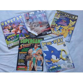 Coleção De Revistas Antigas De Videogame - 2ª Edição