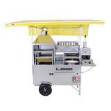 Carrinho Ambulante 5x1 Hotdog Pastel Batata Lanche Churrasco