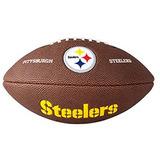 Bola Wilson De Futebol Americano - Nfl® Team Logo Jr - Pitts