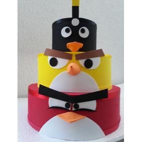 Bolo Falso Angry Birds