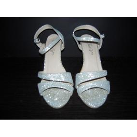 605fff90 Sandalias Plateadas Tacon Medio Talla - Zapatos Mujer en Anzoátegui ...