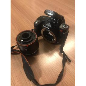 Camera Dslr Sony A290 14mp Com Lemte 18-55mm