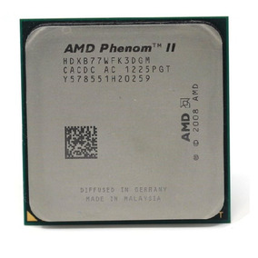 Cpu Processador Amd Phenom Ii X3 B77 - 3.2 Ghz - Am2+ / Am3