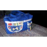 Bolso Maternal Azul Impecable