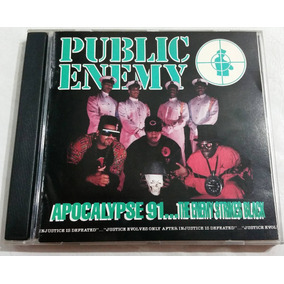 Public Enemy - Apocalypse 91...the Enemy Strikes Black Cd