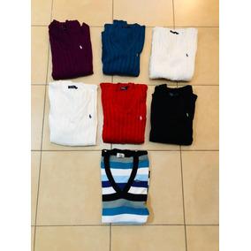 Sweater Mujer Lacoste Rayas - Ropa y Accesorios en Mercado Libre ... a8c835ee18