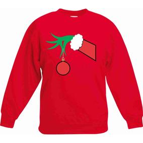 Sudadera Navidad Christmas Grinch Mano Envío Gratis