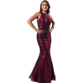 b1649160da Vestido De Nochefiesta Color Moka Vestidos Noche Mujer - Vestidos de ...