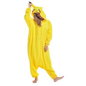 Poleron Pikachu Para Cosplay - Disfraces Hombre en Mercado Libre Chile 2f23f52a6179