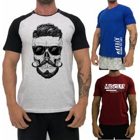 a53d4e4dc Camisa Regatas Masculina Gustavo Lima Camisetas Manga Curta ...