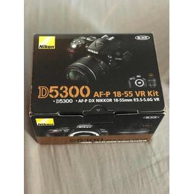 Câmera D5300 Lente 18-55mm Mochila Nikon