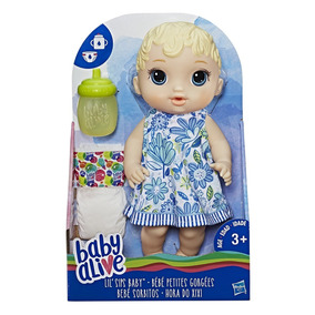Baby Alive Lil Sips - Loira