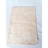 Documento Cantagalo Rj Marcação De Terreno Séc Passado