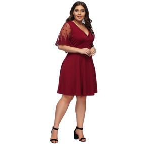 b494da3c5be Vestidos De Fiesta Rojos - Vestidos de Mujer en Mercado Libre Chile