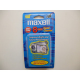 Cassette 8mm Limpiador De Cabezal Maxell S/.35