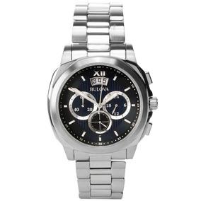 Relógio Masculino Analógico Cronógrafo Bulova Wb31818f Prata