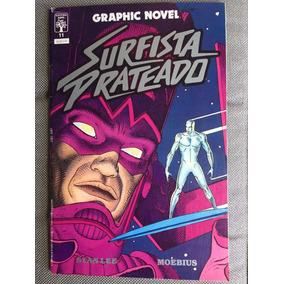 Hq Surfista Prateado Stan Lee Moebius Graphic Novel Frete$15