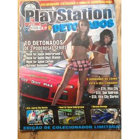 Revista Playstation Detonados Frete Para Todo O País 5,00