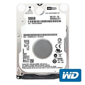 Hd Notebook 500gb Sata Western Digital Slim 7mm