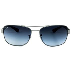 Óculos De Sol Ray Ban Rb3518l 029 8g 63 Cinza Acetinado d87df11d71