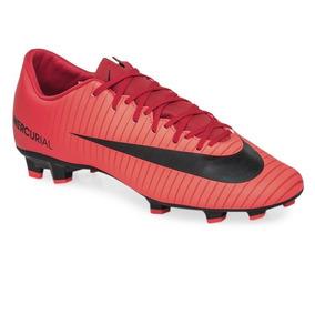 Botines Nike Mercurial Blanco Y Rojo - Botines en Mercado Libre ... d70c67434800e