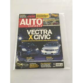 Revista Auto Sporte - Março 2009 - Nº 526 Vectra Civic