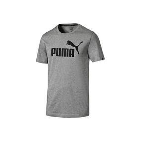 Playera Puma Cuello Redondo Gris Manga Corta 1335613
