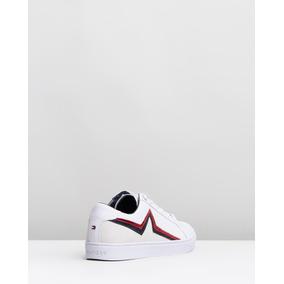 40968c706ec Tommy Hilfiger Nueva Colección 2019 De Usa Sneakers Blancos.
