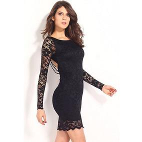 Imagenes de vestidos de encaje negro