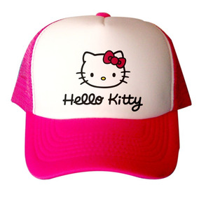 Gorra Rosa De Hello Kitty Niña Fiesta Regalo