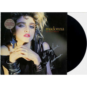 Madonna Lp Vinil The First Album Autografado