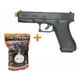Kit Pistola Glock G7 Kwc Spring Gun + 2.000 Bb S