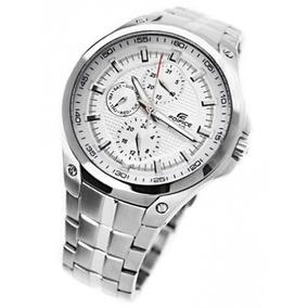 efaf6e4cc2d Relógio Casio Edifice Ef 326d Cromado E Dourado - Joias e Relógios ...