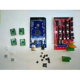 Kit 3d Ramps 1.4+arduino Mega 2560+drivers A4988