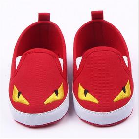 Sapato Infantil Bebê Primeiros Passos Desenho Animado Kids.