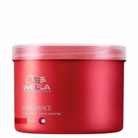 Wella Brilliance - Mascara Cabelos Grossos 500ml