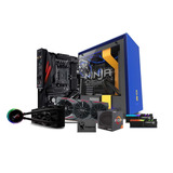 Computadora Pc Gamer Rx 580 Ryzen 7 Ssd 120 16gb 1tb Ninja