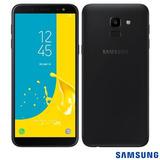 Celular Samsung Galaxy J6 Preto Tela 5,6 4g 32gb - Smj600