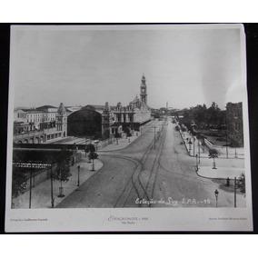 Foto Cartão Arredores Estação Da Luz São Paulo Antiga 1902