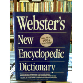 Websters New Encyclopedic Dictionary