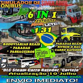 Euro Truck Simulator 2 Brasil Total 2018 Mod Bus + Caminhões
