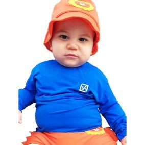Camisa Proteção Uv Bebê 6 Meses, 1 Ano A 18 Meses